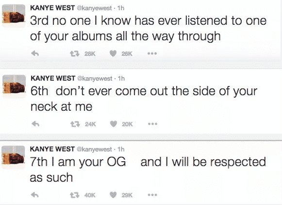 Kanye West Tweet 2