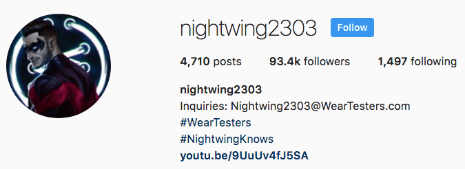 instagram influencer shoutout contact
