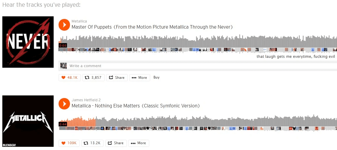 get more followers on soundcloud by engaging