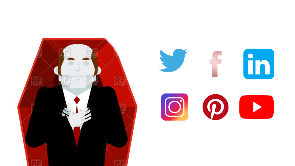 What happens to your social media accounts when you die?